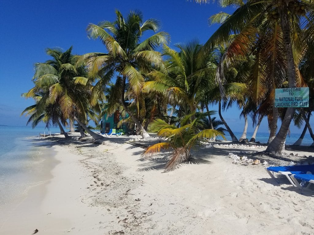 Sailing and Snorkeling to Laughing Bird Caye